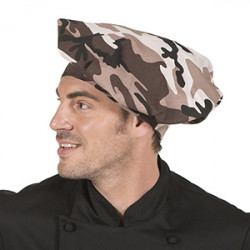 Gorro cocinero estampado camuflaje