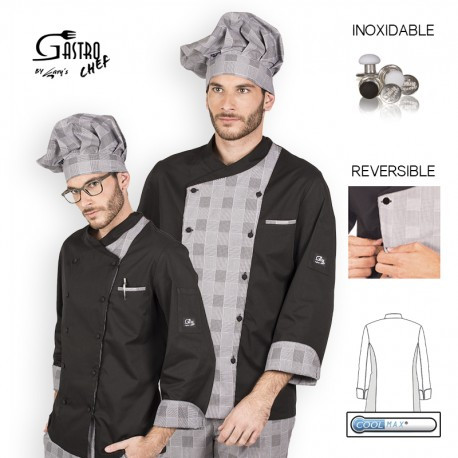 Chaqueta cocina caballero cronos