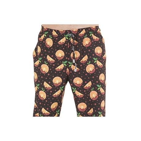 Pantalon cocina microfibra naranjas