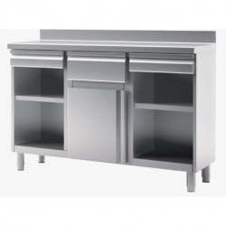 MUEBLE CAFETERO 1 ESTANTE 1500X600X1050 MM