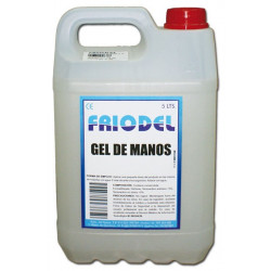 GEL DE MANOS FRESA 5L